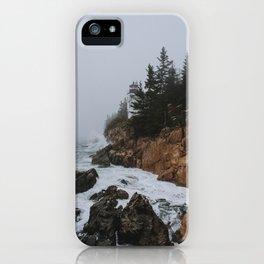 Bass Harbor, Maine iPhone Case