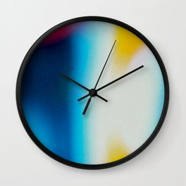 BLUR / nightlife Wall Clock