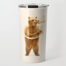 The Bear and his Helicon Travel Mug