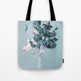 Faces Blue 06 Tote Bag