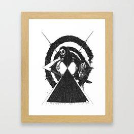 As Above Framed Art Print