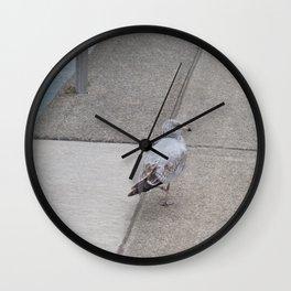 Dockside Stroll Wall Clock