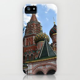 St Basile Cathedral Moscow iPhone Case