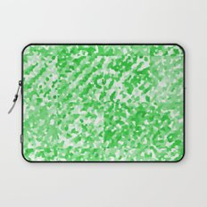 Green Delight (Squares) Laptop Sleeve