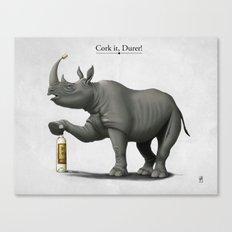 Cork it, Durer! Canvas Print