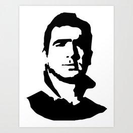 Cantona Art Print