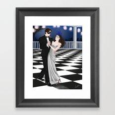 a very expensive dance Framed Art Print