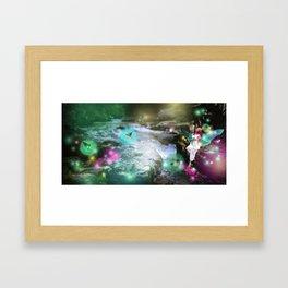 Effervescing Glade Framed Art Print