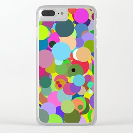Circles #6 - 03112017 Clear iPhone Case