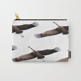 Cranes in flight #decor #society6 Carry-All Pouch