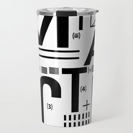 METAL FICTION Travel Mug