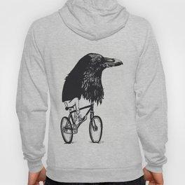 Black Bird Riding Hoody