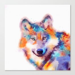 The Faithful - Wolf Canvas Print
