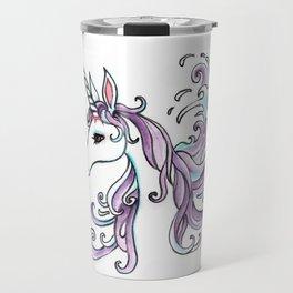 Last Unicorn little unicorn design Travel Mug