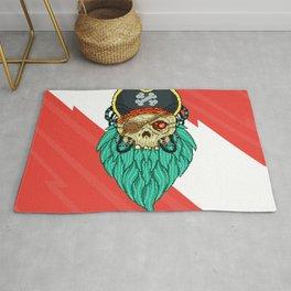 Pixel Pirate Rug