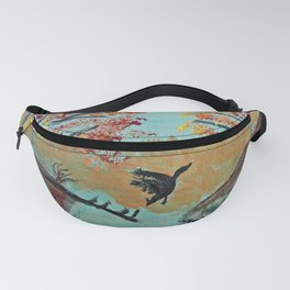 Autumn Duck Pond Fanny Pack