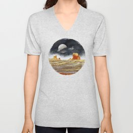Metallic Desert Unisex V-Neck