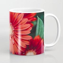Red Daisy 2 #gerberas Coffee Mug