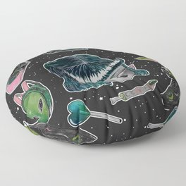 Space Oddity Floor Pillow