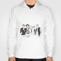 one direction Hoodies featuring One Direction by Stephanie Recking