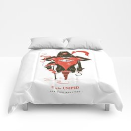 U is for Uniped Comforters