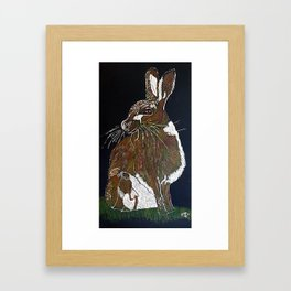 Hare Today Framed Art Print