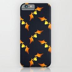 Flying Bats Pattern Slim Case iPhone 6s
