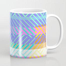 Weaving - golden and blue Coffee Mug