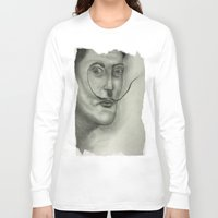 salvador dali Long Sleeve T-shirts featuring Salvador Dali by Jennifer Lynn