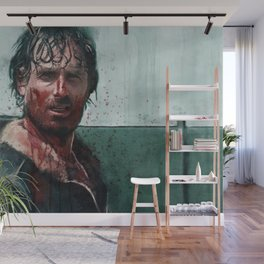 Don't Mess WIth Rick Grimes - The Walking Dead Wall Mural