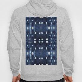 Shibori City Blue Hoody