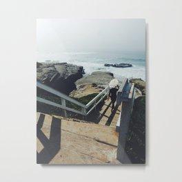 San Diego Surfer Metal Print
