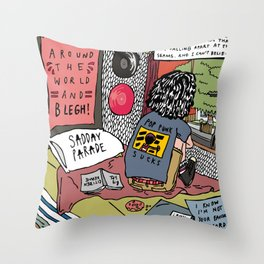 Everybody Just Thinks That I'm Falling Apart At The Seams And I Can't Believe Throw Pillow