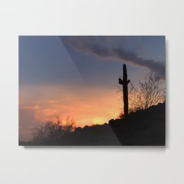 South Mountain Sunset Metal Print
