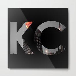Kansas City - Western Auto KC Print Metal Print