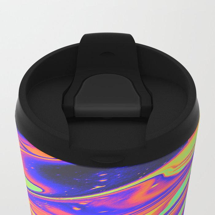 EYES ON FIRE Metal Travel Mug