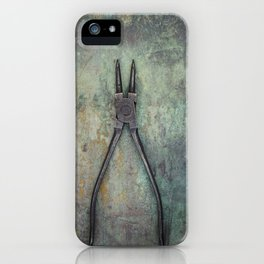 Pliers II iPhone Case