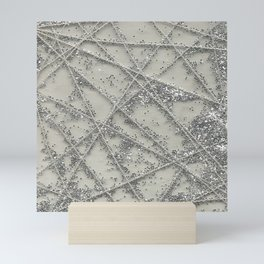 Sparkle Net Mini Art Print