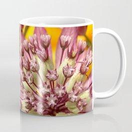 Purple Burst of Flowers 103 Coffee Mug