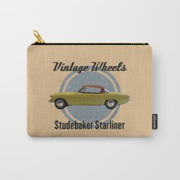 Vintage Wheels - Studebaker Starliner Carry-All Pouch