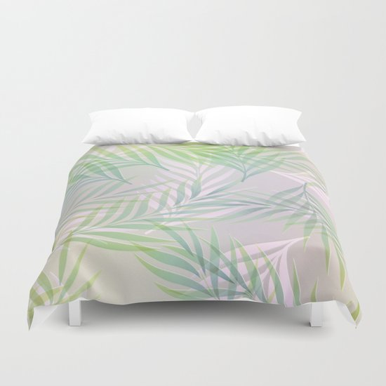 Palm Leaves Duvet Cover
