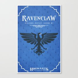 Ravenclaw House Poster Canvas Print