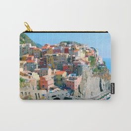 Italy. Cinque Terre - Cliffside Carry-All Pouch