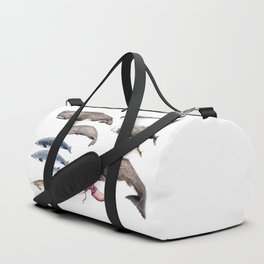 Deep sea whales Duffle Bag
