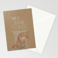 MAKING ME FELL Stationery Cards