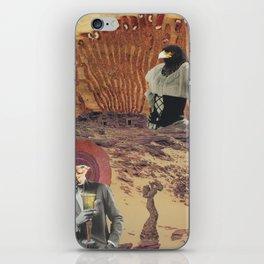 cranky desert birds iPhone Skin