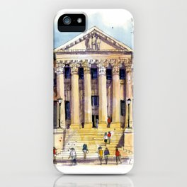 LSU Law School iPhone Case