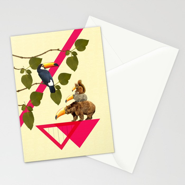 everybody would love to be a toucan  Stationery Cards