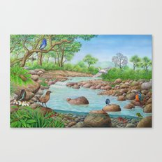 river  Canvas Print