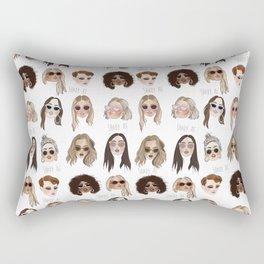 Shady AF Rectangular Pillow